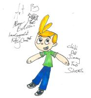 Chibi Jimmy Two shoes doll by Kittychan2005