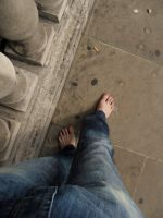 Barefoot in London by PhilsPictures
