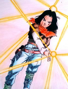 Android 17 by Ragnof