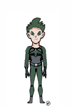 Green Gust Version 4.0 without sailglasses by zancecreator101