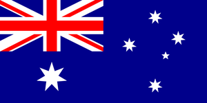 High quality Australian Flag by Anklyne