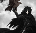 Madara as a Medieval knight by FireEagleSpirit