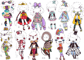 -CLOSED - Outfit adopt MIX by Guppie-Adopts