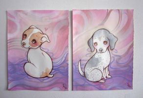 Pups by lindsaycampbell