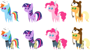 Pony Pack 53 by Zacatron94