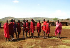 Masai Warriors by eaukes