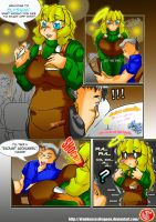 T and M Comic 01 - Radiant Drink by DragoonTequila