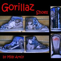 Gorillaz Shoes by ThatJemmaBayleyGirl