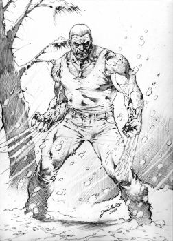 Commission Old Man Logan JL 2017 by JoseLuisarts