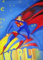Superman Animated series by markhossain