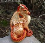 Flame-Point Tabby Dragon by Nambroth