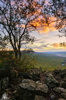 Hawk Mountain Sunrise by JustinDeRosa