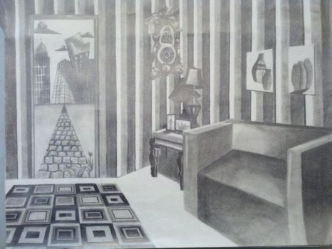Perspective room by hannahhoneyy