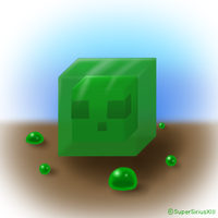 Daily Art - 075 - Slime by SuperSiriusXIII