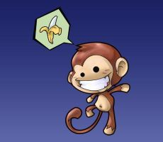 The Monkey is Mine by minsan