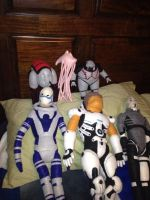 Mass Effect Plushie Collection by xenowriter
