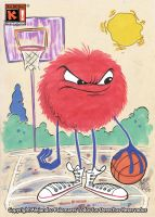 B-BALL PUFF by alexpal
