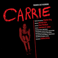 Carrie The Musical CD Cast Recording Jacket by TerrysEatsnDawgs