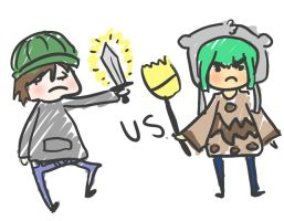 Me Vs Thomas by Kitten-of-Darkness