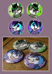 Custom Buttons- Kjhusky9615 by xAshleyMx