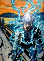Black Bolt's Scream by matss1988