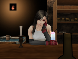 A Day at the Bar by GoddessAerith