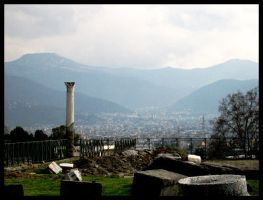 A View from Pompeij by alienor