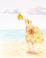 Dresses and Summer by artistsncoffeeshops