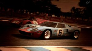 1966 Ford GT40 Race Car Gulf Oil (Gran Turismo 5) by Vertualissimo