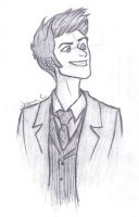 10th Doctor by JasminSC