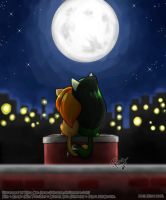 KP: Under the Moonlight by rinacat