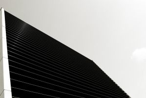 Black lined wall by Grum999