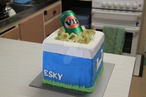 Esky Cake 2 by The-Ice-Flower