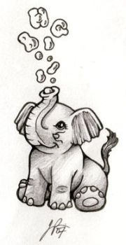 Tim's Little Elephant by Blueicebird