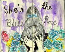 Blue Rose by vs-theworld