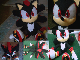 shadow the hedgehog plush toy by shadowhatesomochao