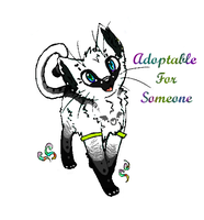 Feline Adoptable For Someone 2 by SacerLupus