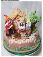 Hansel and Gretel Cake by dragonflydoces
