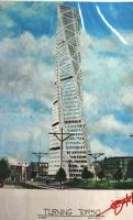 MALMO TURNING TORSO by tin--chan