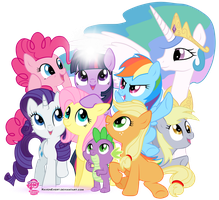 My Little Pony - Friendship is Magic by RavenEvert