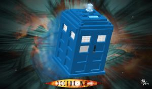 Lego - Doctor Who TARDIS by Stitchfan