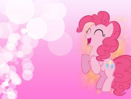 Pinkie Pie wallpaper by SlenderMare