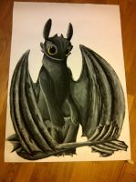Toothless by SingOfTomorrow