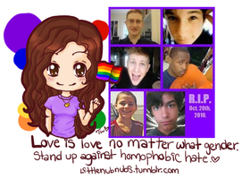 Love is love, stand up by Turkey-Wang
