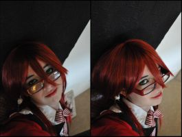 Grell: Watching You by Betwixt779