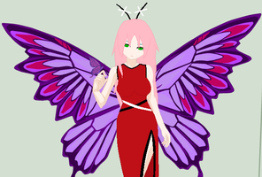 Ruby Butterfly: XChara by KissyMissy-Tainted-K