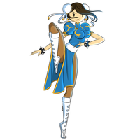 Chun Li  by Irogh