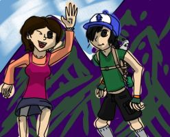 Mabel and Dipper...? by Eusong
