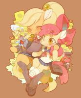 Apple Family go to Japan~ by Shy6677
