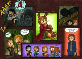 Hobbits by Deathlydollies13